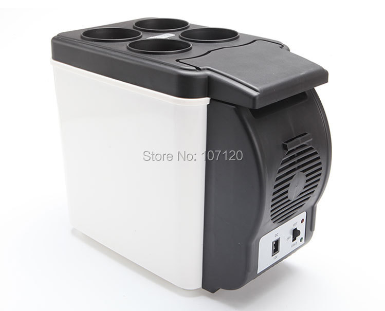 12V Multi-Function Home Travel Cooler Auto Freezer Double Use Warmer Portable Car Refrigerator Mini Fridge ABS 48W цена 2017