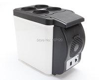 12V Multi Function Home Travel Cooler Auto Freezer Double Use Warmer Portable Car Refrigerator Mini Fridge ABS 48W