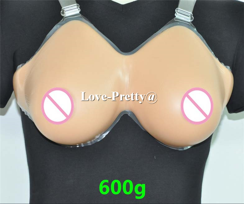 600g/pair Silicone Breast Forms M Size /36B/38A Falsie Breast Forms,Water Drop Mastectomy Breast Enhancer Like Real Breast new light weight 34c 36b 38a silicone breast forms for mastectomy fake boobs cosplay