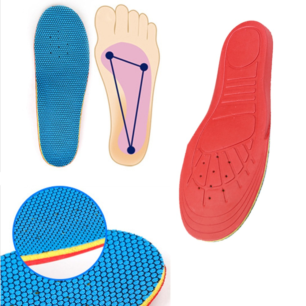 1pair New Kids Child Shoe Insoles Pads EVA Orthotic Orthopedic Arch Support Flat feet Pain Relief Correction Foot Care EUR 32-35