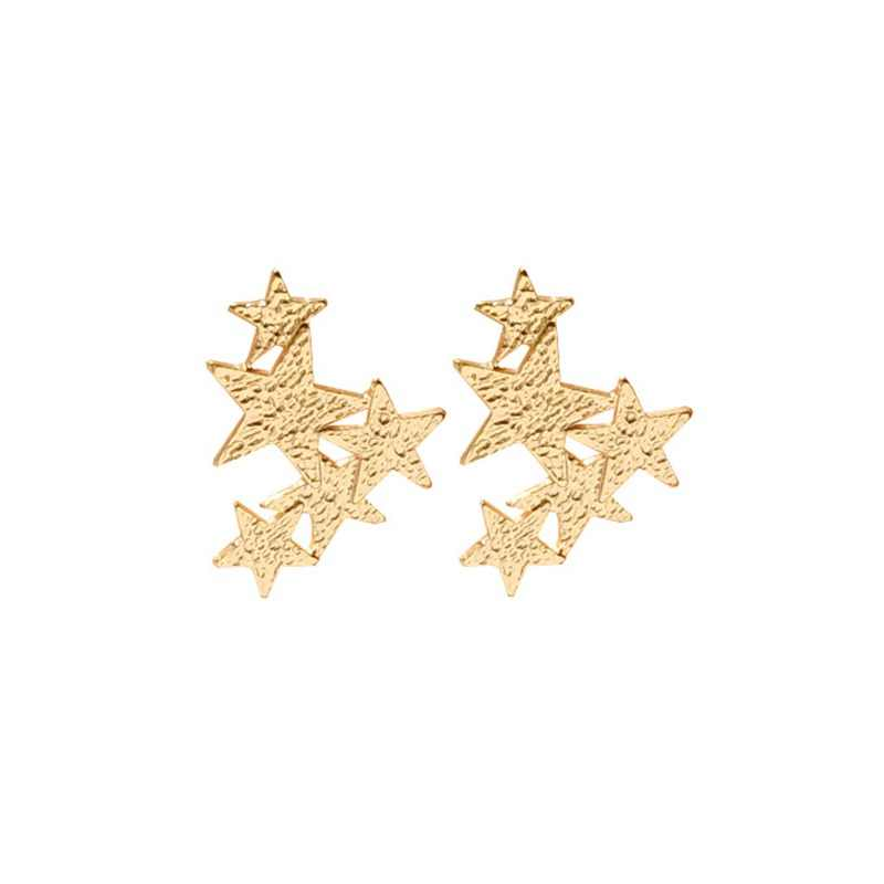 Star Ear Clips Non Pierced Tiny Star Moon Clip On Earrings For Women Everyday Teen Mothersday Celestial Birthday Gift Jewelry
