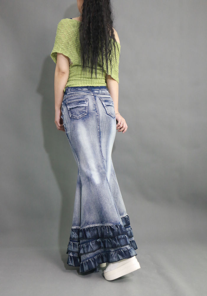 Pikk volangidega teksaseelik