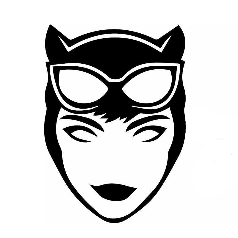 Wholesale 50pcs Lot Cartoon Film Heroes Sexy Temptation Catwoman Car Sticker For SUV Bumper Laptop Kayak Vinyl Decal 9 Colors On Aliexpress