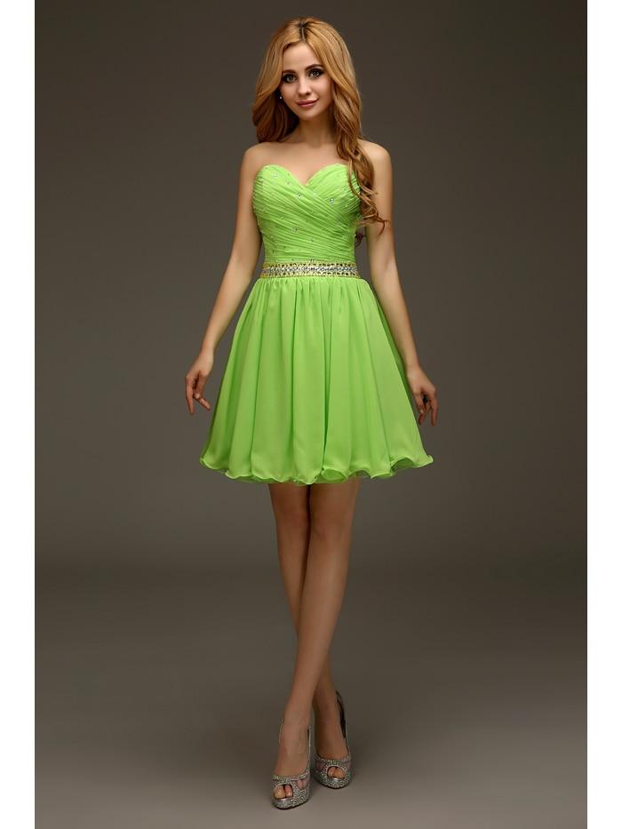 Online Get Cheap Lime Green Strapless Dress -Aliexpress.com ...