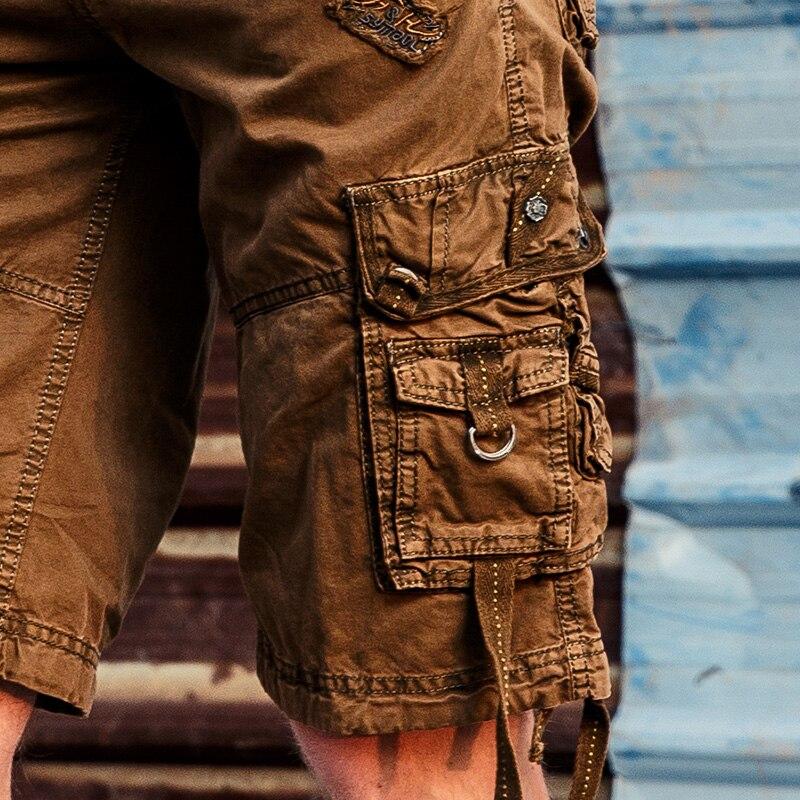 HALACOOD Mode Sexy Qualität Neue Sommer Wadenlangen Cargo Herren - Herrenbekleidung - Foto 4
