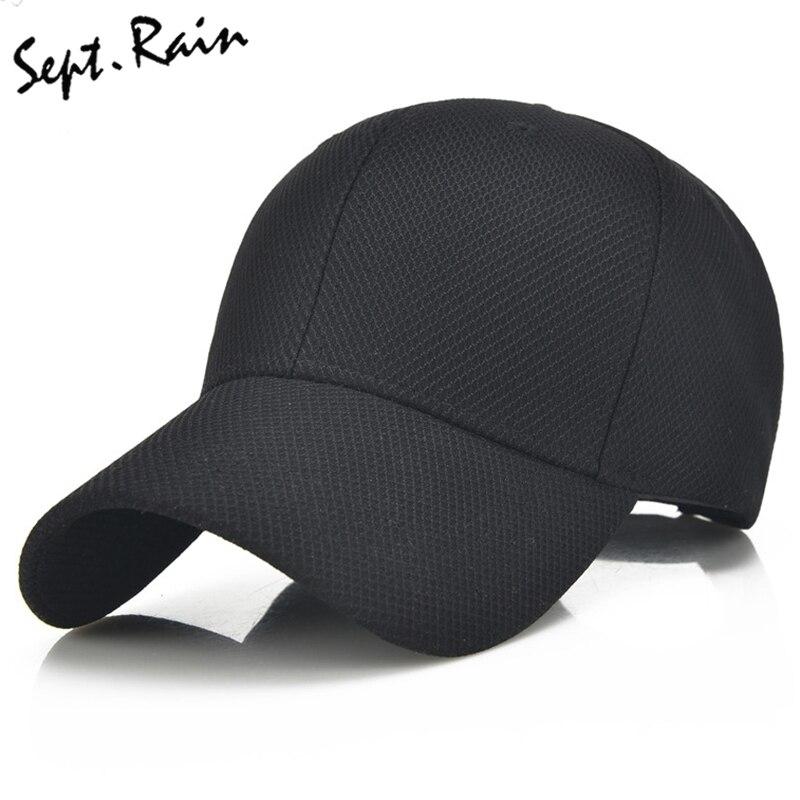 Prix pour [Septembre. pluie] hommes femmes 2017 d'été snapback à séchage rapide maille casquette de baseball soleil chapeau os respirant chapeaux