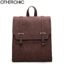 Otherchic горячие новые дизайнерские винтажные рюкзак двойной стрелка женщины рюкзак высокое качество мода для девочек школьная сумка L-7N07-89