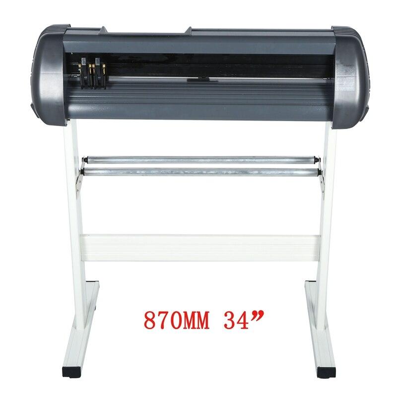 870mm de corte de vinil plotter sinal cortador 34