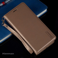 For Nokia 6 5 3 Flip Magnetic Stand Wallet Genuine Leather Case For Nokia 3 5