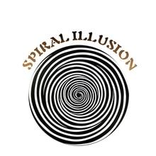 Спиральный металл Иллюзия диск стальной магический трюк магический реквизит