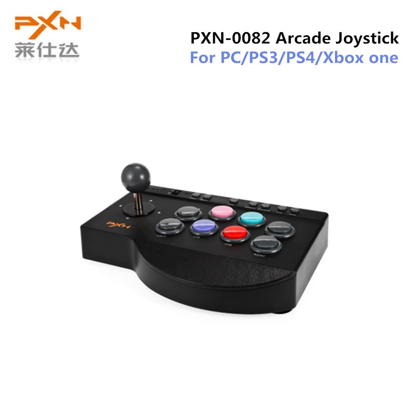 все цены на PXN PXN-0082 Gamepad Arcade Wired Joystick Game Controller USB Interface for PC PS3 PS4 Xbox one