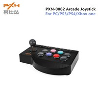 PXN PXN 0082 Gamepad Arcade Wired Joystick Game Controller USB Interface For PC PS3 PS4 Xbox