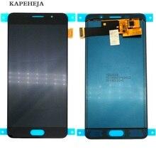 Яркость можно настраивать ЖК-дисплей для Samsung Galaxy A5 2016 A510 A510F A510M ЖК-дисплей Дисплей Сенсорный экран планшета Ассамблеи