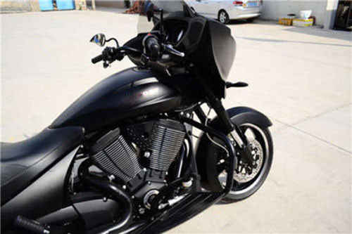 Wondrous Black Motorcycle Highway Engine Guard Crash Bar For 10 17 Victory Cross Roads Country Magnum Machost Co Dining Chair Design Ideas Machostcouk