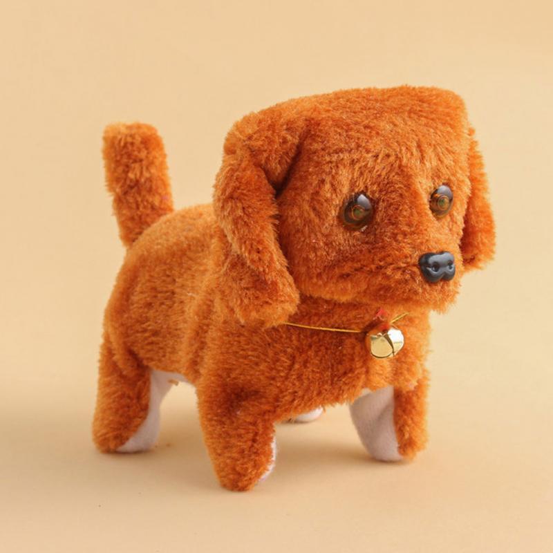 New Electronic Dog Toys Cute Animal Battery Plush Walking Barking Electronic Pets Gift Electronic Dog Toy