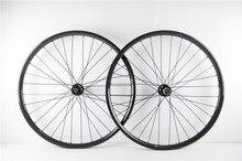 One pair wheel 650B Carbon Fiber Bike Wheelset disc brake 25mm depth 27mm width bend or hookless model 11 speed