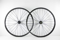 One pair wheel 650B Carbon Fiber Bike Wheelset disc brake 25mm depth 27mm width bend or hookless model 11 speed