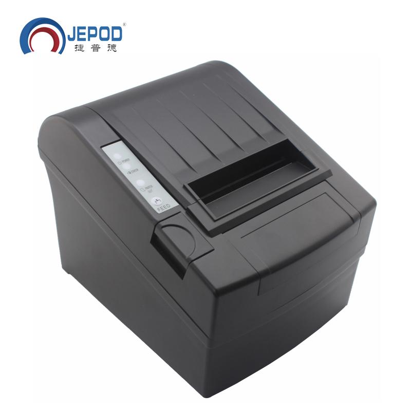 Prix pour JP-8006 80mm USB Thermique Réception Imprimante Auto Cutter 80mm Thermique Imprimante POS Système LAN + USB + SÉRIE Port Thermique Billet Imprimante