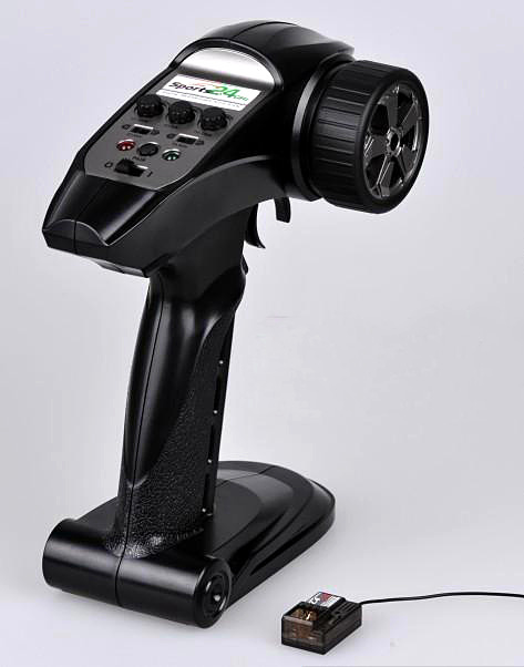 ФОТО free shipping 2ch 2.4ghz gt-2 sport digital proportional rc transmitter system for car boat