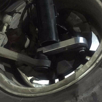 1 Pair Aluminium Alloy Adapter Increasing Turn Angle Drift Lock Kit For BMW E36