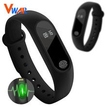 M2 Smart Bracelet Heart Rate Monitor Bluetooth Smartband Health Fitness Tracker Smart Band Wristband Android iOS FitnessBracelet