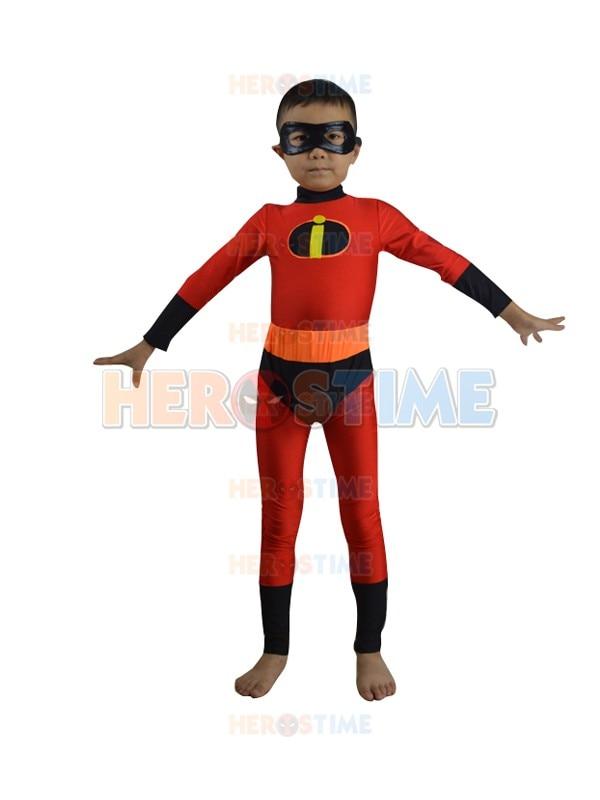 New Arrivals Boys Incredibles Dash Costume Kids halloween Cosplay Clothing Children superheroes Fancy Dress