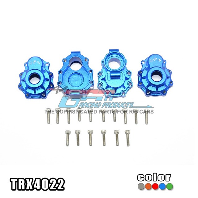 TRAXXAS TRX-4 82056-4 Aluminum Alloy Rear knuckle Arms Wear Resistance Stable Not Easy To Deform-Set TRX4022 Free Shipping