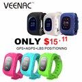 Q50 veenac smart watch crianças kid relógio de pulso gsm gprs localizador gps tracker criança guarda de alarme anti-perdida smartwatch para android ios