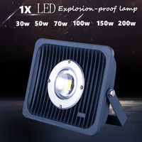 1 pcs Ultra Bright LED Projector à prova de Explosão-lâmpada de 30 w 50 w 100 W 150 W 200 W Quente/Frio Branco Iluminação de Inundação LEVOU Inundação luzes