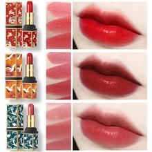 BellyLady 3 Pcs Waterproof Long-lasting Red Velvet Lipstick Set