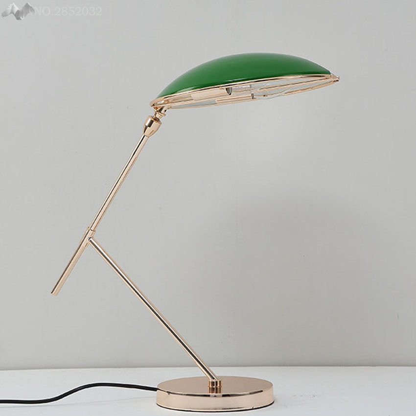 Commercial Table Lamps: Nordic Creative Iron Table Lamps Post Modern Luxury