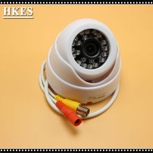 8pcs/lot AHD 1080P 3000TVL IR Mini Dome Camera Analog AHD Camera indoor IR CUT Night Vision Plug and Play for AHD DVR