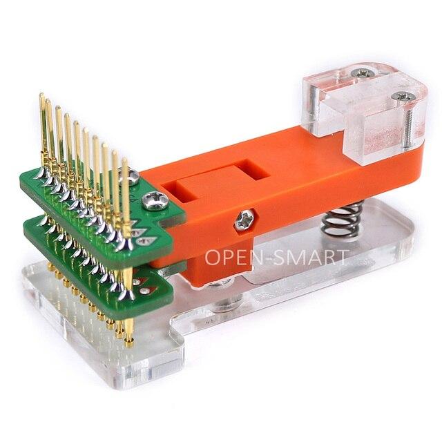 ブートローダプログラマモジュールテストツール PCB テスト · フィクスチャ 1*10 1080P テストするために使用モジュール、ボード、アップロードブートローダ Arduino のプロミニ
