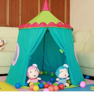 Brand quality child tent baby play house indoor toy ocean ball pool kids castle boys girls brinquedos game house blue cartoon