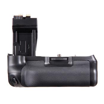 Meke pionowy uchwyt baterii aparatu dla Canon EOS 550D 600D 650D T4i T3i T2i jako BG-E8 projektowanie mody Bettery Grip tanie i dobre opinie EACHSHOT BG-E8