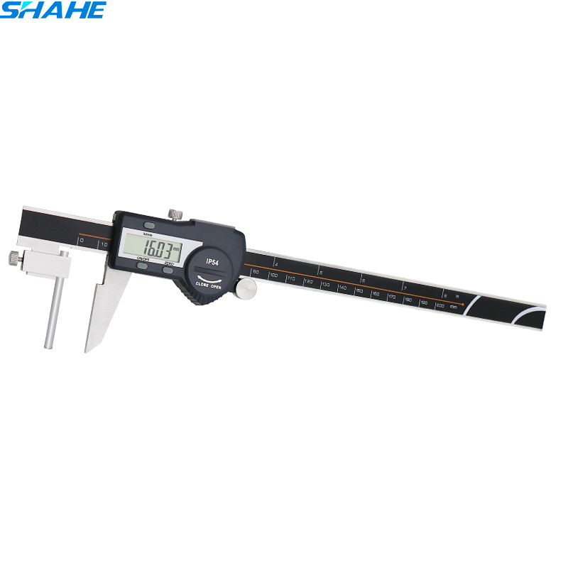 цена на 0-200 mm digital tube thickness caliper digital vernier caliper stainless steel caliper electronic ruler caliper