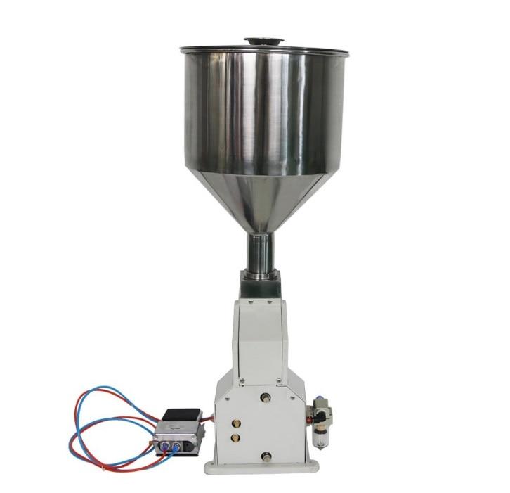 A02 пневматический дозатор крема наполнитель, косметическое оборудование для разлива(5-50 мл