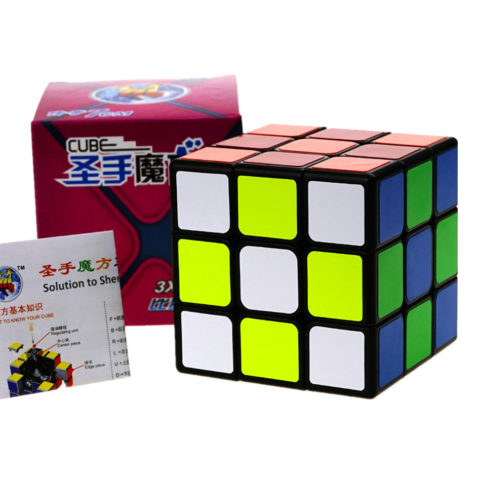 Shengshou Legend 3x3 Cube 7CM Big Size 3x3x3 Magic Cube 3Layers Speed Cube Professional Puzzle Toys For Children Kids Gift Toy