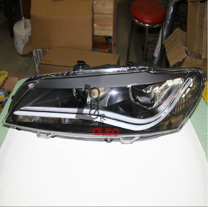 Bi-Xenon Projector Headlights with LED DRL car styling For  new VW Passat V6 B7  2011-2013