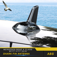 Auto Car Shark Fin Antenna Trim Cover Accessories Sticker for Mersedes benz A Class W177 V177 2019