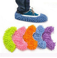 1Pair New Lazy Mopping Shoes Floor Moppers Slippers Mop Floor Polishing Dusting Cleaning Cover Cleaner Cleaning Foot Socks