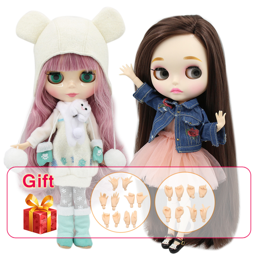 360j Doll Limited Gift Special Price Cheap Offer Toy Toys & Hobbies Practical Free Shipping Top Discount 4 Colors Big Eyes Diy Nude Blyth Doll Item No