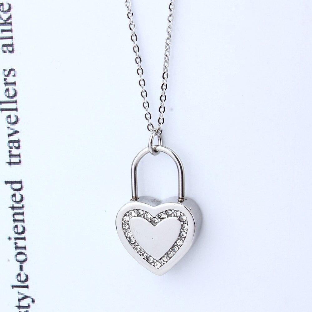 XUANHUA Día de San Valentín Regalo Corazón Collares y Colgantes - Bisutería - foto 4