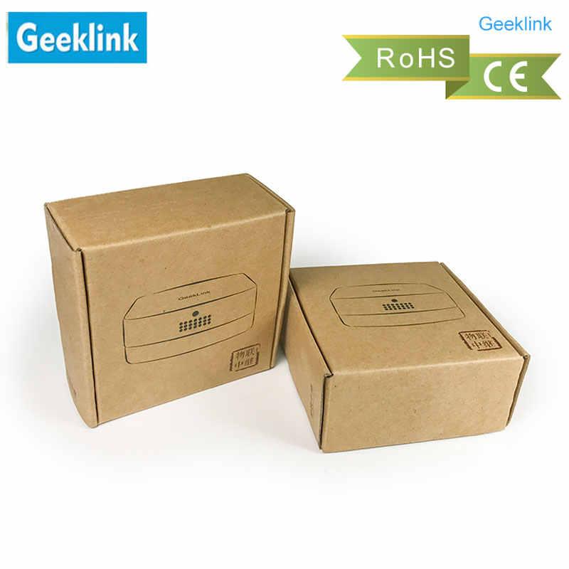 Controlador inteligente de extensión Geeklink, interruptor inalámbrico de automatización de hogar inteligente, wiFi + RF + Control remoto IR a través de IOS Android