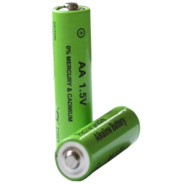 2 cái/lốc New Nhãn Hiệu AA có thể sạc lại pin 3000 mah 1.5 v Alkaline New Sạc batery cho led ánh sáng đồ chơi mp3 miễn phí vận chuyển