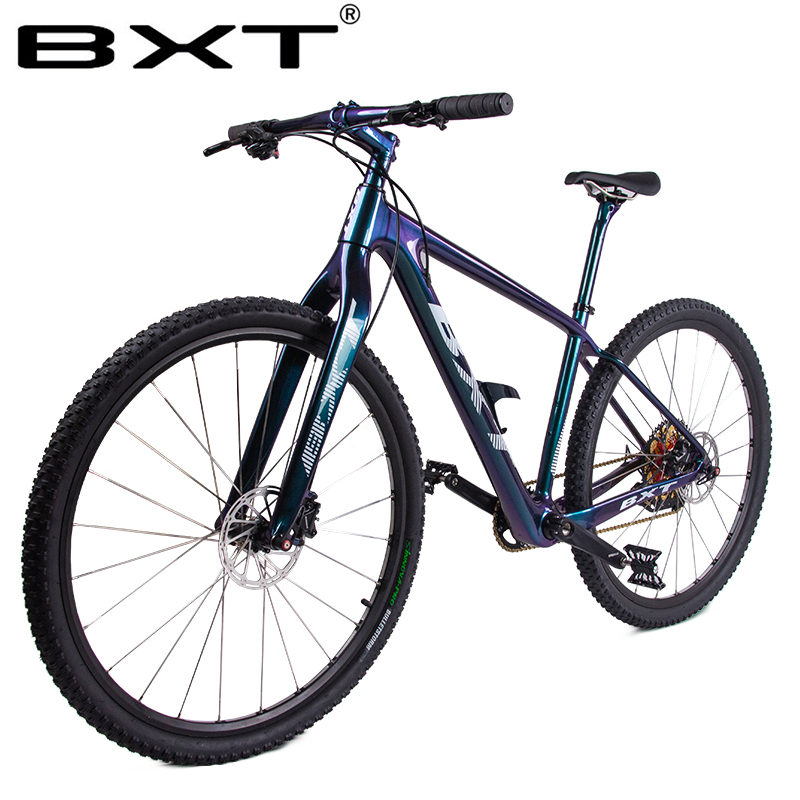 2020 New BXT 29er Carbon Mountain Bike 1*12Speed Complete Bicycle 29inch MTB 142*12/148*12mm Boost Chameleon Frame Free Shipping