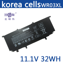 New Original WR03XL Laptop battery for HP Split X2 13-M000 TPN-Q133 HSTNN-IB5J HSTNN-DB5J 725497-2B1 725607-001 11.1V 32WH цена 2017