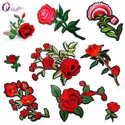 Coudre Sur Patches Fer-sur Coudre-sur Fleur Broderie Patch Motif Applique Enfants Femmes DIY Vêtements Autocollant De Mariage