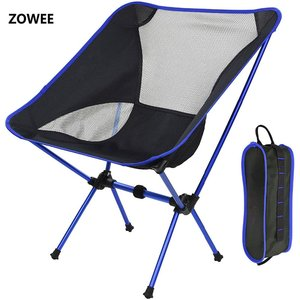 Image 1 - Dropshipping Portable Lightweight Fishing Chair Solid Camping Stool Folding Outdoor Furniture Garden Portable Ultra Light Chairs