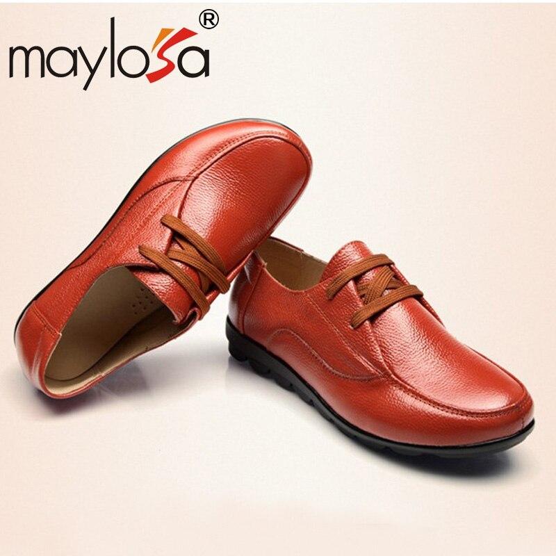 nuevo invierno zapatos casuales de cuero zapatos de cuero zapatos femeninos mad